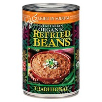 Amy's Vegetarian Organic Light in Sodium Traditional Refried Beans 15.4-oz.