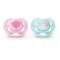 Philips Avent Ultra Air Pacifier 0-6m 2pk