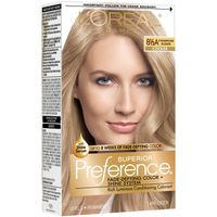 L'Oreal Paris Superior Preference Fade-Defying Color + Shine System 8.5A Champagne Blonde