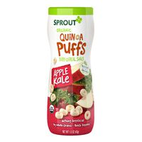 Sprout Plant Power Puffs, Organic, Apple Kale