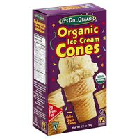 Let's Do...Organic Ice Cream Cones - 12 CT