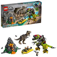 LEGO Jurassic World T. rex vs Dino-Mech Battle 75938 Building Kit (716 Pieces)