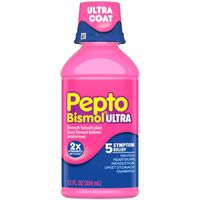 Pepto Original Ultra Liquid for Nausea, Heartburn, Indigestion, Upset Stomach