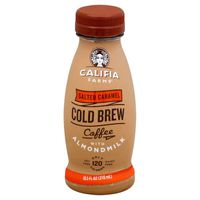 Califia Farms Salted Caramel Cold Brew Coffee with Almondmilk