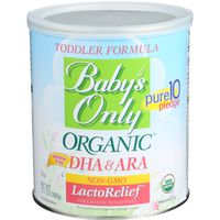 Baby's Only Toddler Formula, LactoRelief, Iron Fortified, Powder