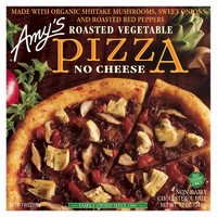 Amy's Roasted Vegetable No Cheese Frozen Pizza - 12oz