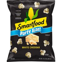 Smartfood White Cheddar Cheese Popcorn, Party Size, 10.5 oz Bag