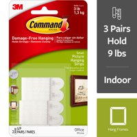 Command Picture Hanging Strips Small, 3.0 CT