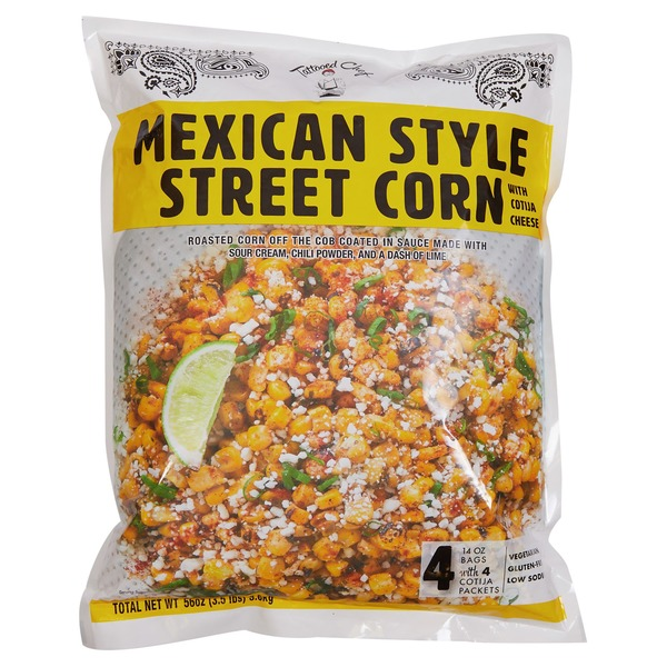 Tattooed Chef Mexican Style Street Corn 4 X 12 Oz From Costco In Houston Tx Burpy Com