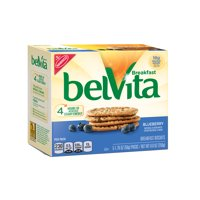 belVita Blueberry Breakfast Biscuits, 5 Packs (4 Biscuits Per Pack)