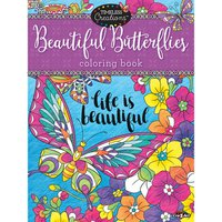 Cra-Z-Art Timeless Creations Beautiful Butterflies Coloring Book