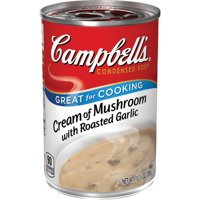 Campbell'sCondensed Cream of Mushroom with Roasted Garlic Soup, 10.5 oz. Can