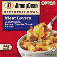 Jimmy Dean Frozen Meat Lovers Breakfast Bowl - 7oz