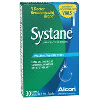 Systane Lubricant Eye Drops Preservative-Free Vials