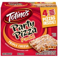 Totino's Triple Cheese Party Pizza Pack!, 39.2 oz Box