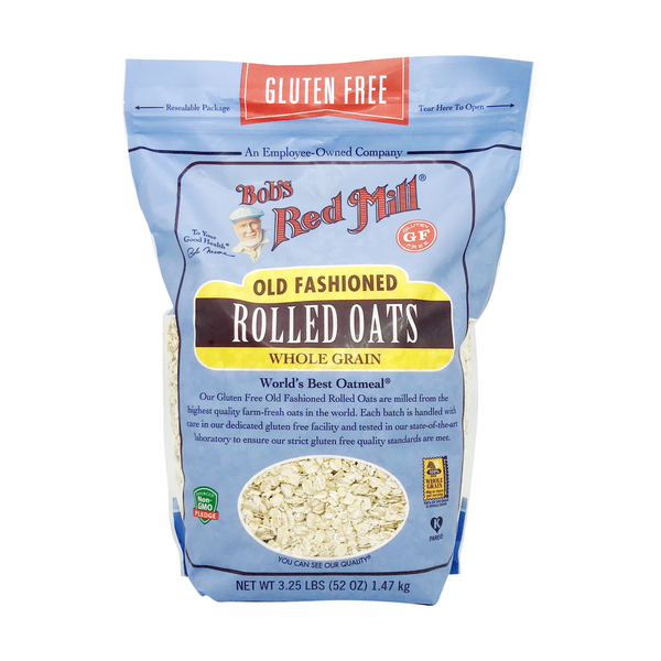 Bob's red mill Whole Grain Old Fashioned Rolled Oats, 3.25 lbs