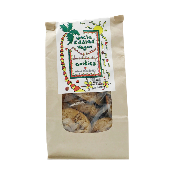 Uncle eddies vegan cookies Peanut Butter Chocolate Chip Cookies, 12 oz