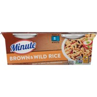 Minute Ready to Serve Brown & Wild Rice, 2-4.4 oz. cups