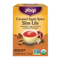 Yogi Tea, Caramel Apple Spice Slim Life Tea, Tea Bags, 16 Ct, 1.12 OZ