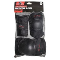 Eight Ball Black Pads 3pk 8+