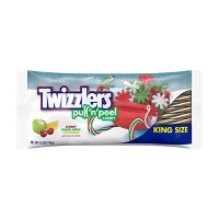 Twizzlers Holiday Pull 'N' Peel Green Apple, Cherry and Lemonade King Size - 4.2oz