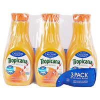 Tropicana Orange Juice With Calcium, 3 x 59 fl oz