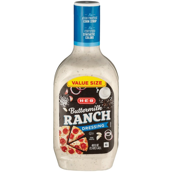 H-E-B Buttermilk Ranch Salad Dressing
