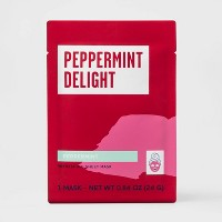 Peppermint Clearing Sheet Mask - White - 0.84oz - Target Beauty™