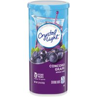 Crystal Light Concord Grape Powdered Drink Mix