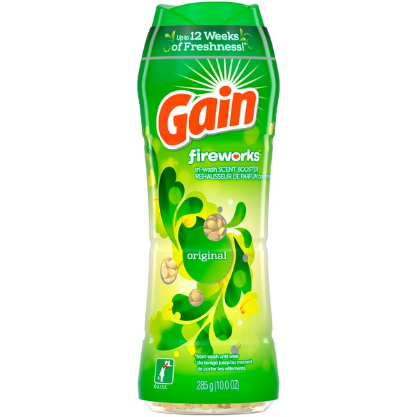 Gain Fireworks In Wash Scent Booster Beads, Original