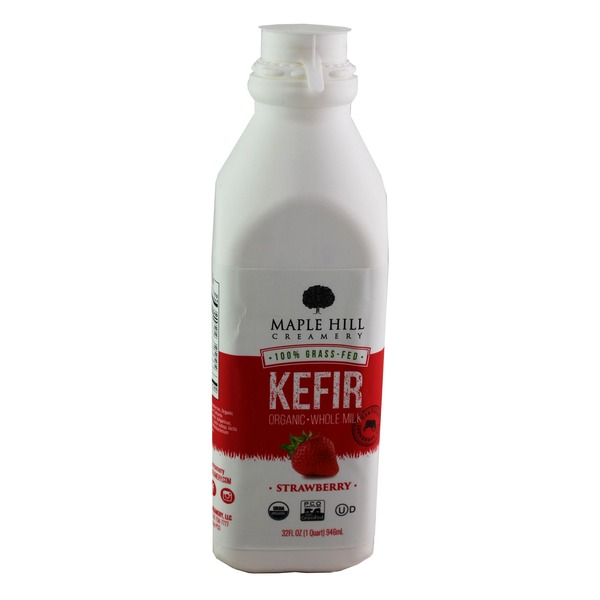 Maple Hill Organic Kefir Strawberry