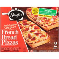Stouffer's FRENCH BREAD PIZZA Deluxe Pizza