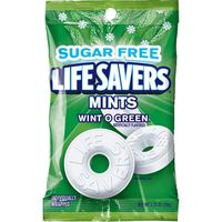 LifeSavers Wint O Green Sugarfree Mints Candy Bag