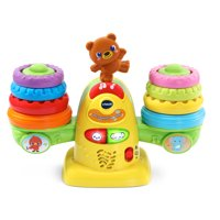 VTech Stack and Balance Teeter Totter with Colorful Rings in Four Sizes