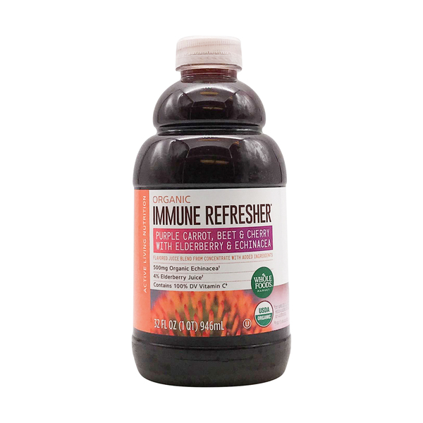 Whole foods market™ Organic Carrot Beet Cherry Elderberry Juice, 32 fl oz