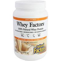 Natural Factors Unflavored Whey Protein