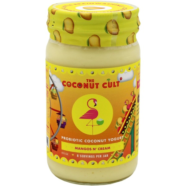 The Coconut Cult Mangos N' Cream Probiotic Coconut Yogurt