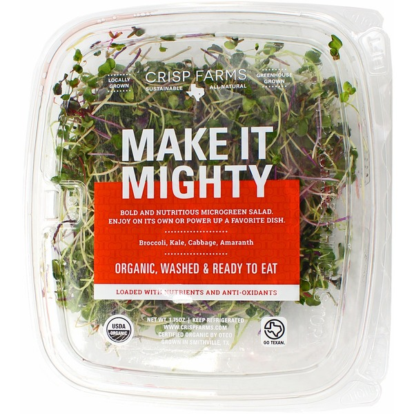 Crisp Farms Make it Mighty Micro Greens
