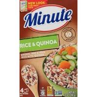 Minute Instant Brown, Red & Wild Rice with Quinoa - 12oz