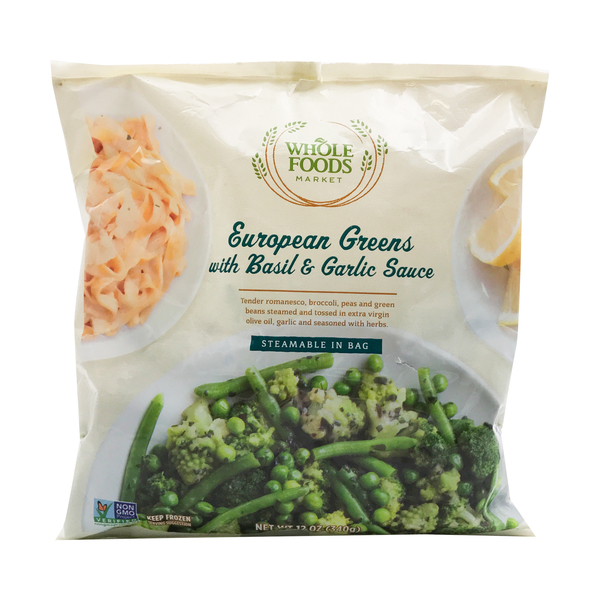 Whole foods market™ European Greens Vegetable Blend, 12 oz