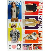 One Direction 1D Wall Decorations