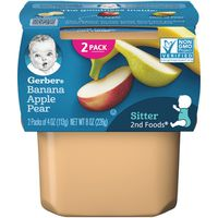 Gerber Bananas with Apples & Pears 2nd Foods