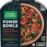 Healthy Choice Powerbowl Italian Frozen Chicken Sausage & Peppers - 9.25oz