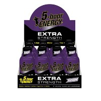 5 Hour Energy Extra Strength Shot - Grape - 12ct