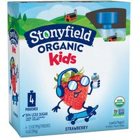 Stonyfield® Organic Organic Kids Strawberry Lowfat Yogurt