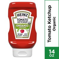 Heinz Organic Certified Tomato Ketchup, 14 oz Bottle