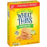 Wheat Thins Crackers, Reduced Fat