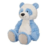 Spark. Create. Imagine. Blue and White Panda Large Plush Toy, 14.5