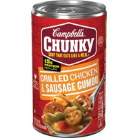 Campbell's Chunky Soup, Grilled Chicken & Sausage Gumbo, 18.8 Ounce Can