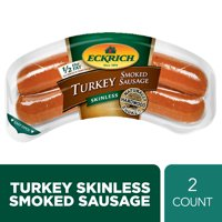 Eckrich Skinless Turkey Smoked Sausage, 13 oz